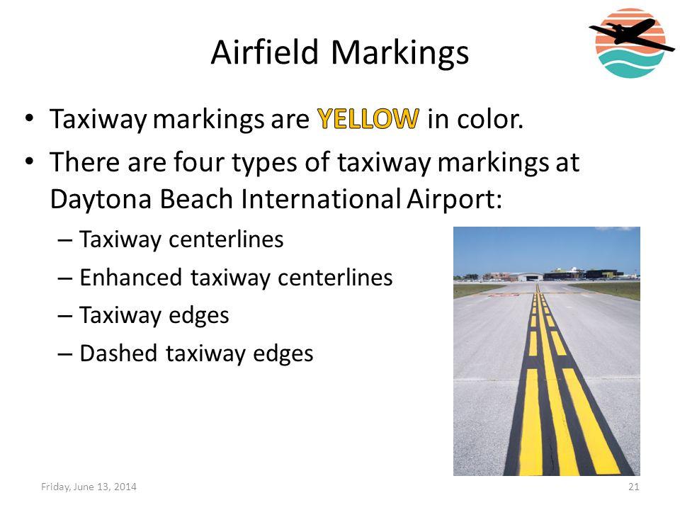 Airfield Markings 21Friday, June 13, 2014