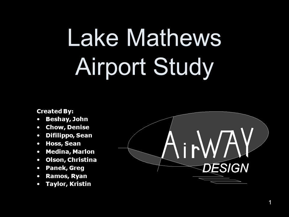 42 Terrain Analysis Best Terrain Alignment and Runway Placement