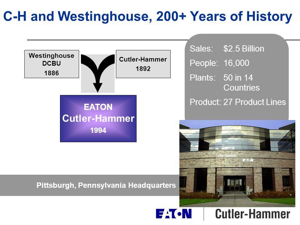 Why Cutler-Hammer.