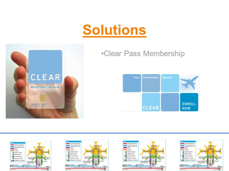 Solutions Clear Pass Membership