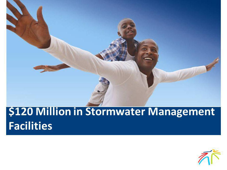 $120 Million in Stormwater Management Facilities