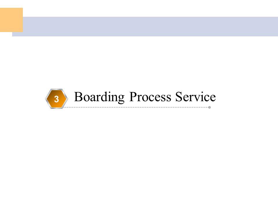 Boarding Process Service 3