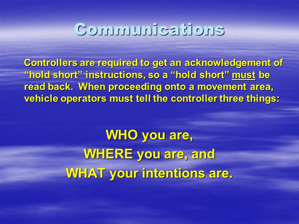 Communications Controllers are required to get an acknowledgement of hold short instructions, so a hold short must be read back.