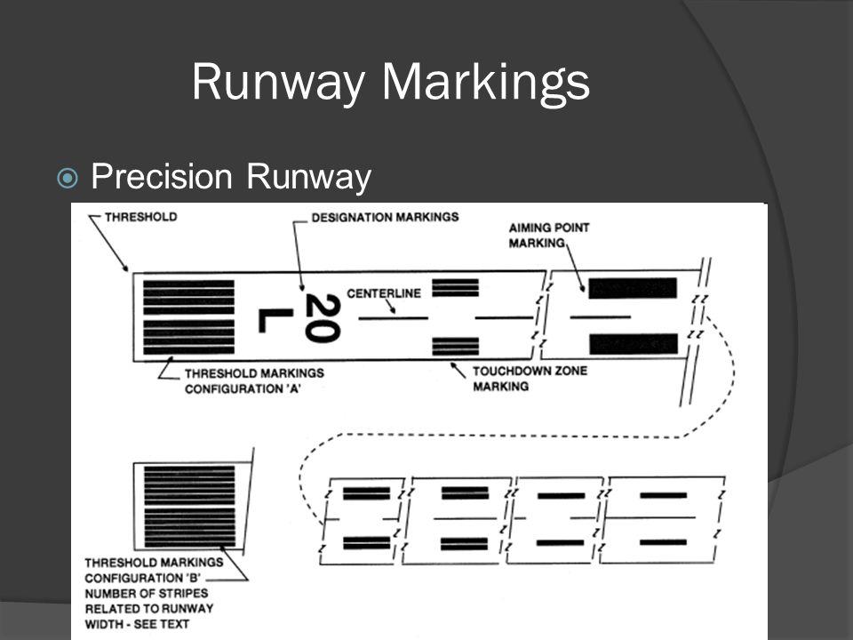 Runway Markings Precision Runway
