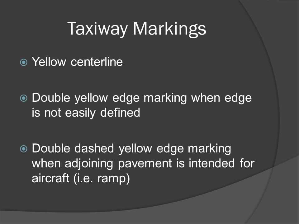Runway Markings Precision Runway