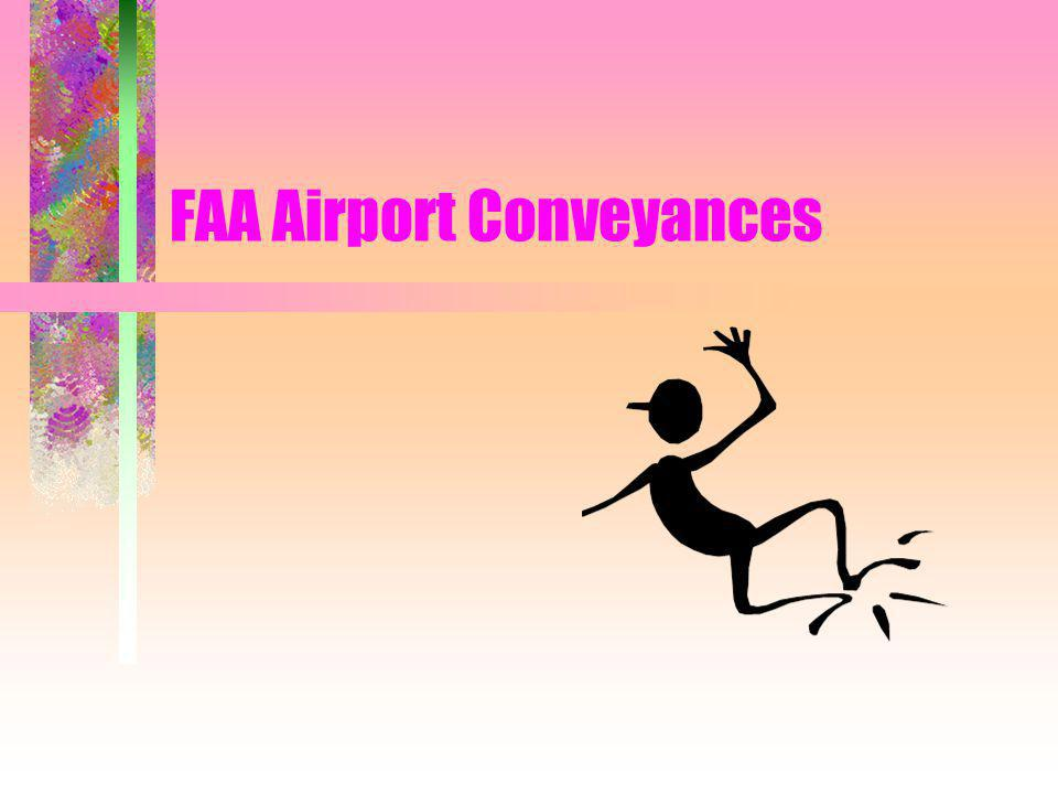 FAA Airport Conveyances