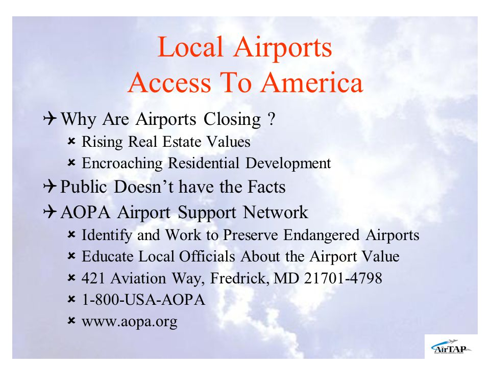 Local Airports Access To America Why Are Airports Closing .