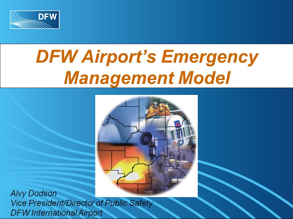 Background Developed Contingency Plans Based Upon Post 9/11 Challenges Developed Financial Contingency Plans Developed Airport Operations Center (AOC) and Emergency Operations Center (EOC) All Departments Participating