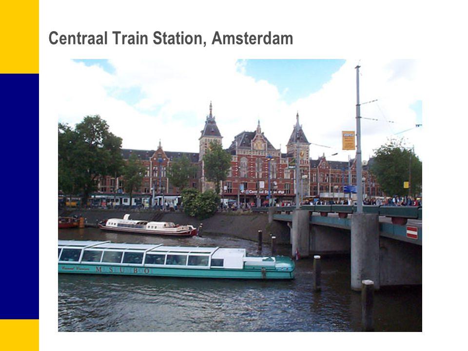 Centraal Train Station, Amsterdam