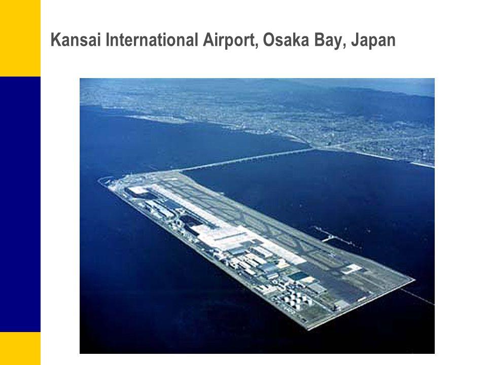 Kansai International Airport, Osaka Bay, Japan