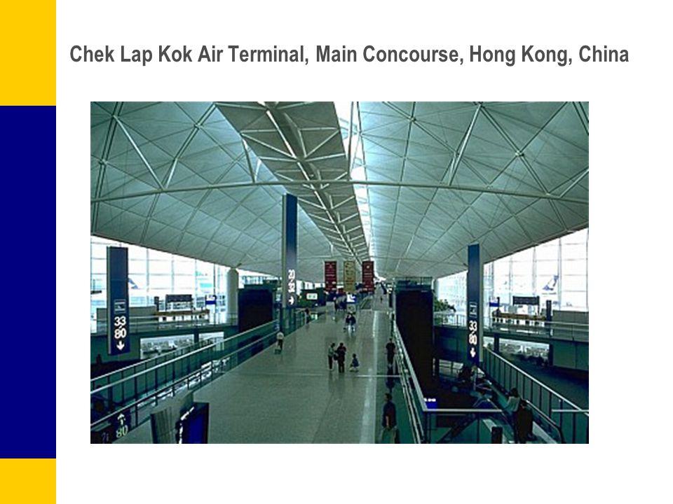 Chek Lap Kok Air Terminal, Main Concourse, Hong Kong, China