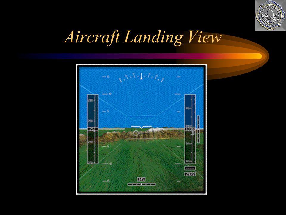 Aircraft Landing View