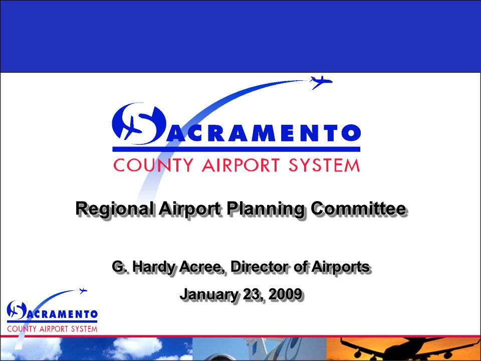 Regional Airport Planning Committee G.