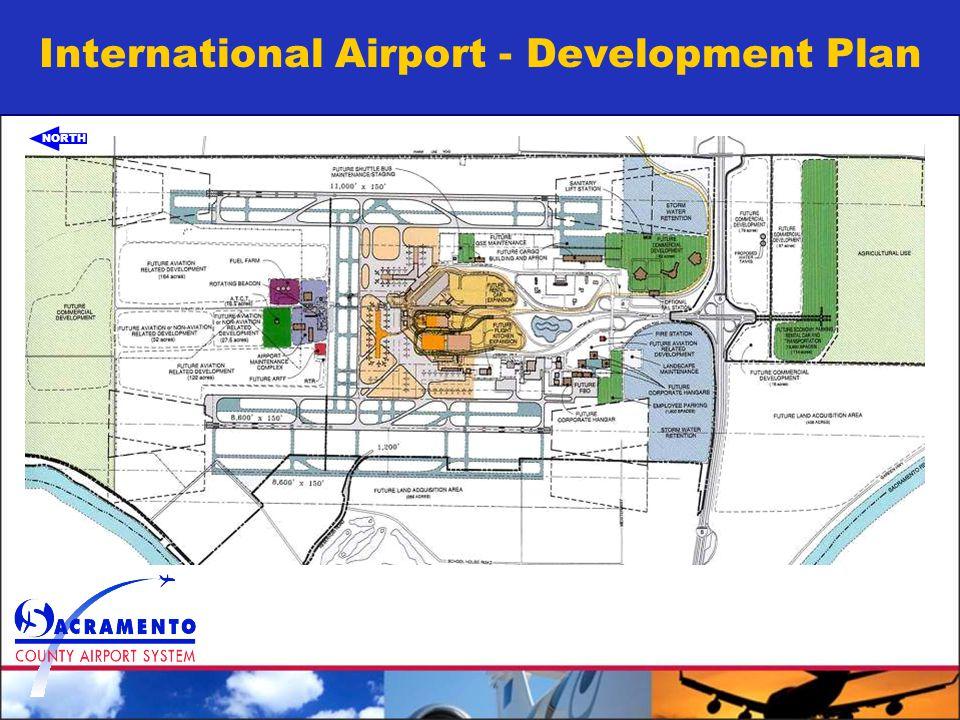 International Airport - Development Plan NORTH