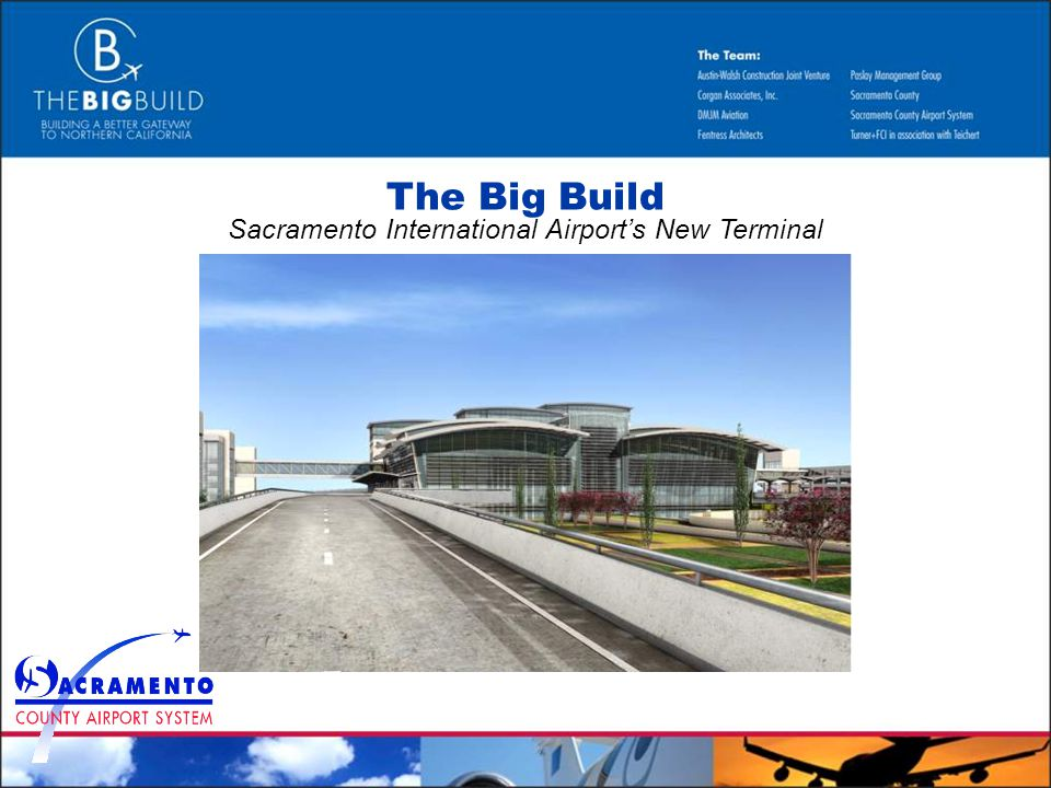 The Big Build Sacramento International Airports New Terminal