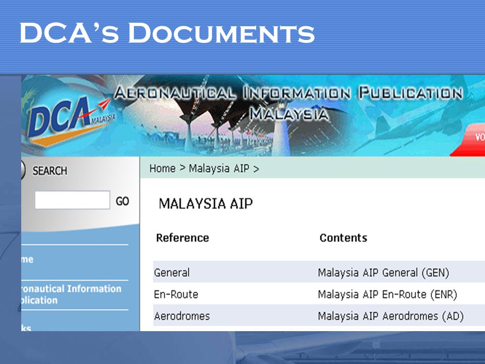 DCAs Documents