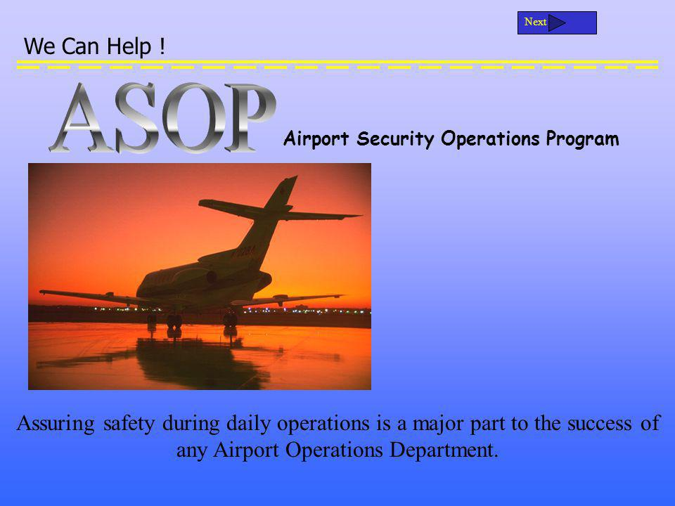 ASOP can help: Keep track of Open or Closed NOTAM / SNOTAMs.