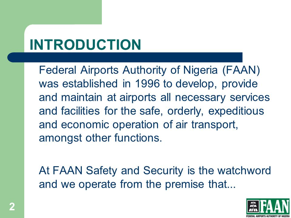 Challenges-contd Funding of mandatory programs for Fire, AVSEC and Operations staff for airport certification.
