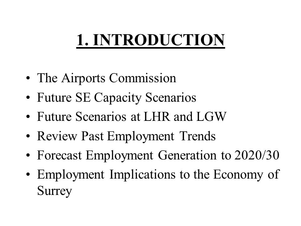 The LHR Numbers (000) – 2010/2012 EmploymentLocalLondonRest of UK Direct On airport76.6 Direct Off Airport7.7 Indirect11.120.844.4 Induced18.631.577.2 TOTAL114.0136.6205.9
