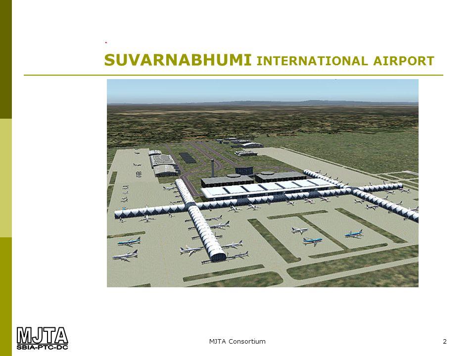 MJTA Consortium13 SUVARNABHUMI INTERNATIONAL AIRPORT. Radiant Floor Shop Drawing: Floor Plan