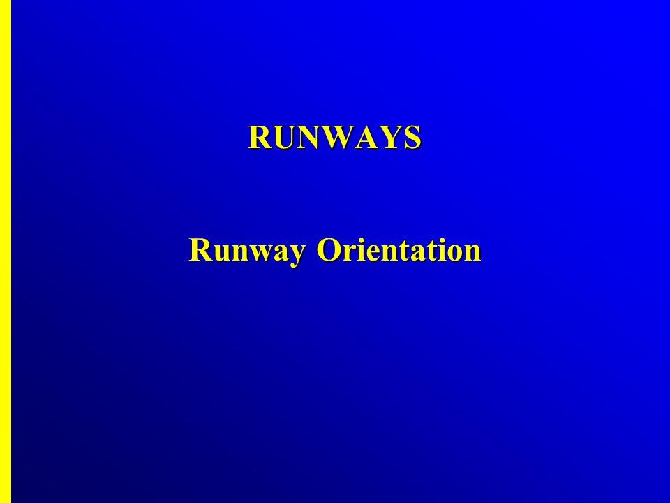 The best runway EW The best runway EW Available wind coverage = 97% > 95% Available wind coverage = 97% > 95% O.K O.K