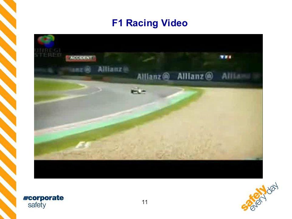 11 F1 Racing Video