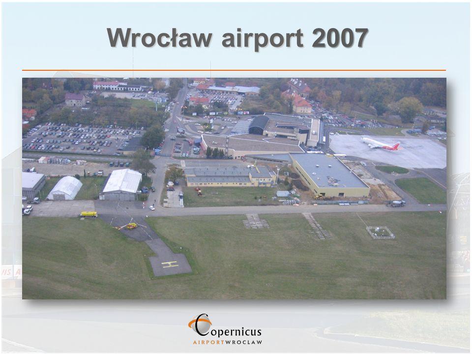 Wrocław airport 2007
