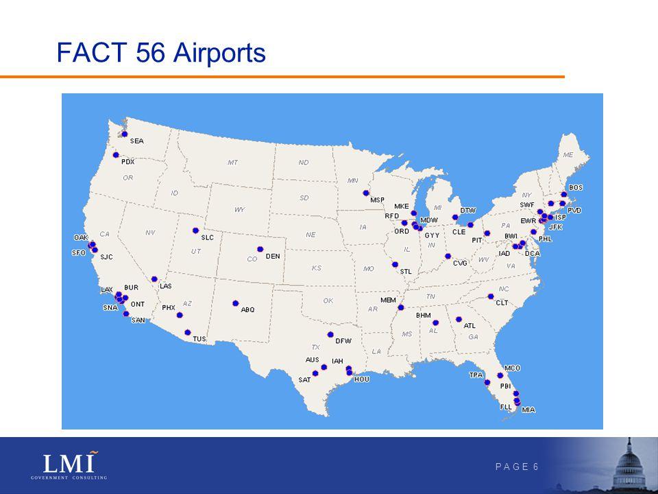 P A G E 6 FACT 56 Airports