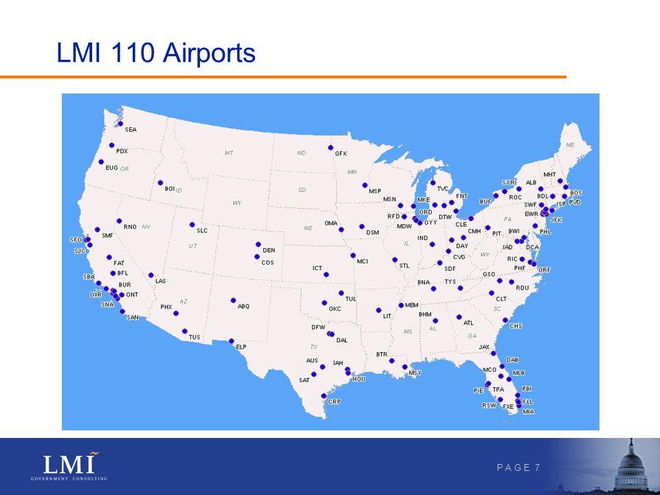 P A G E 7 LMI 110 Airports