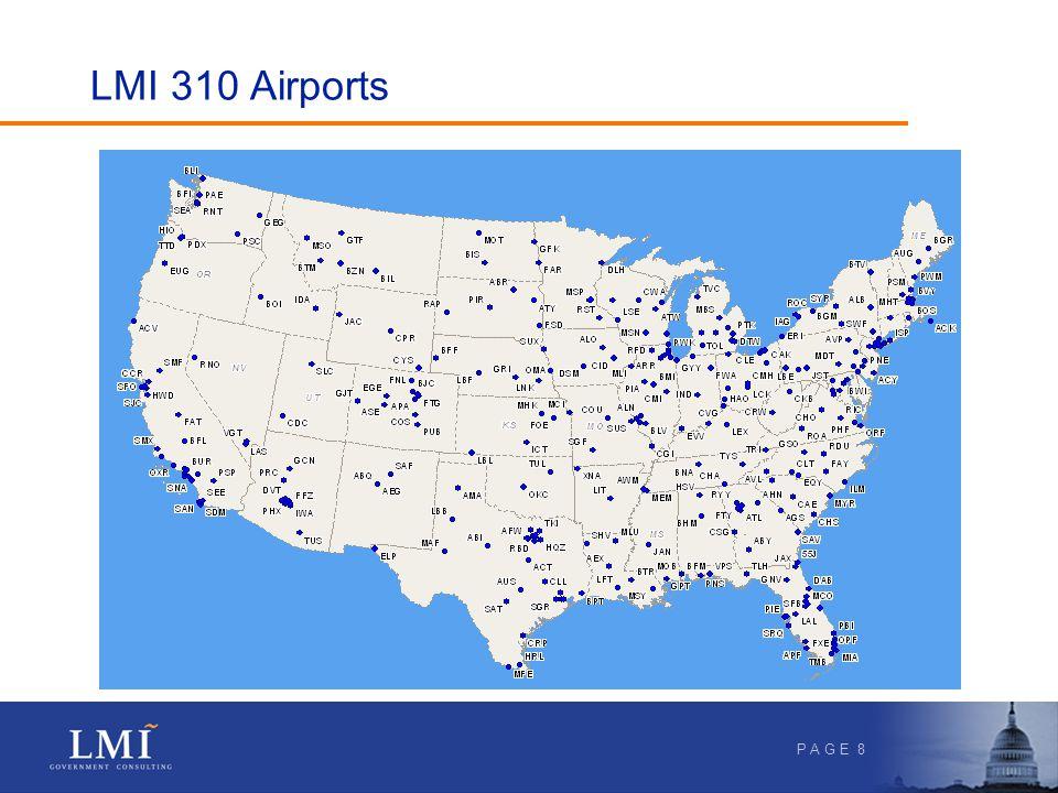 P A G E 8 LMI 310 Airports