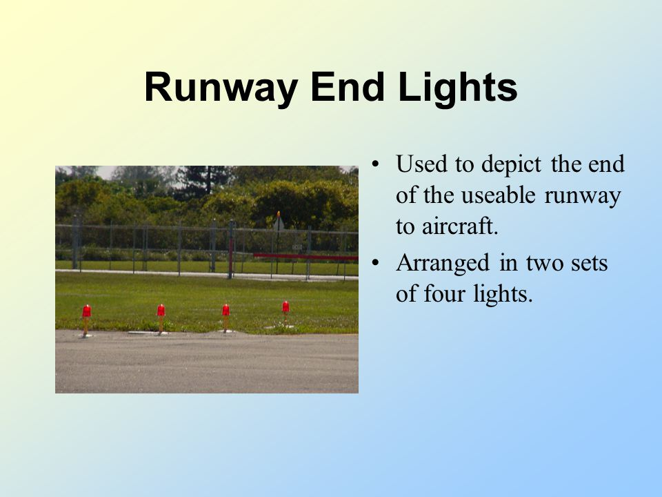 Taxiway Edge Lighting Designed to identify the edge of the usable taxiway surface at night and during periods of low visibility. Taxiway edge lighting