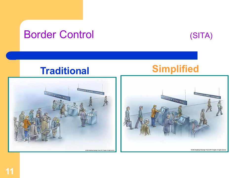 11 Border Control (SITA) Traditional Simplified