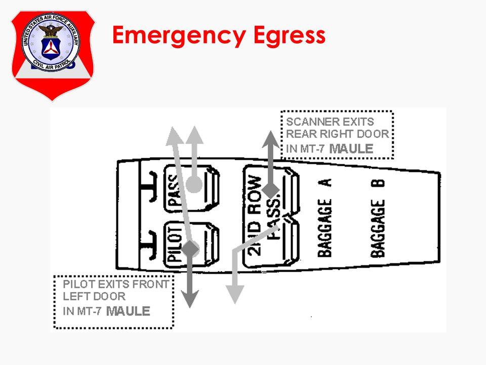 At Emergency Egress