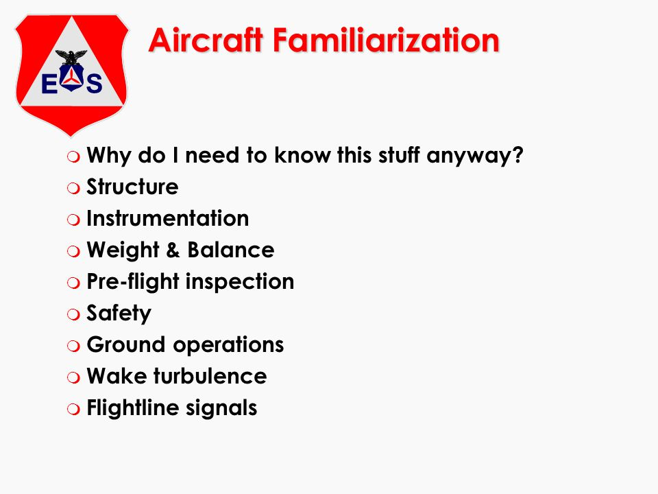Weight and Balance m The wings generate a limited amount of lift m Maximum weight for an aircraft is set by the manufacturer m Pitch stability is affected by the location of the center of gravity m The pilot computes weight and balance and controls it by loading the aircraft correctly