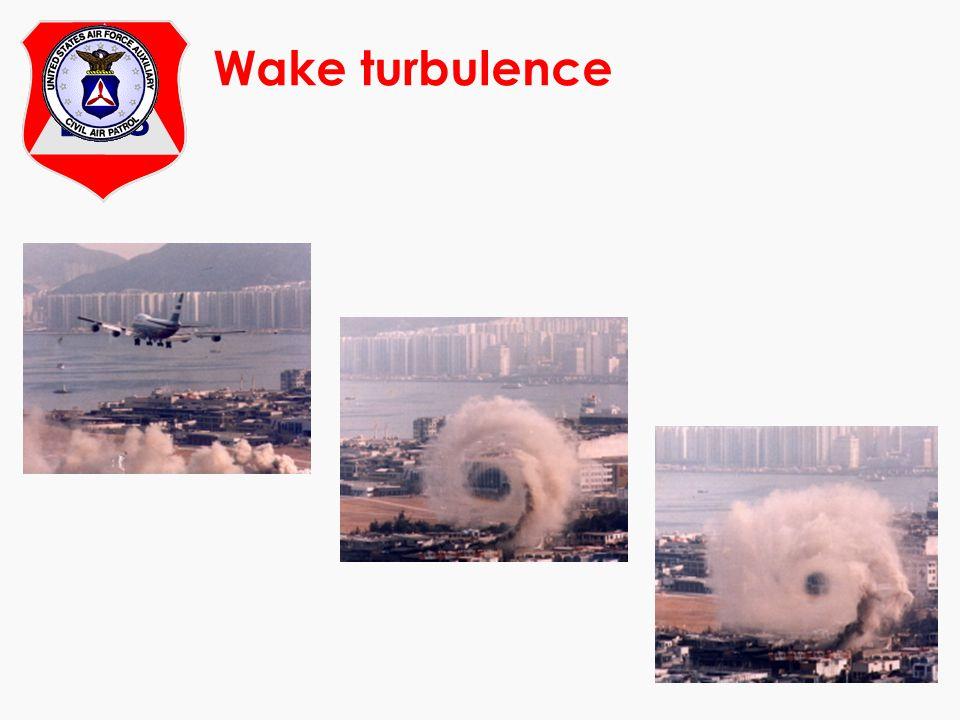 At Wake turbulence