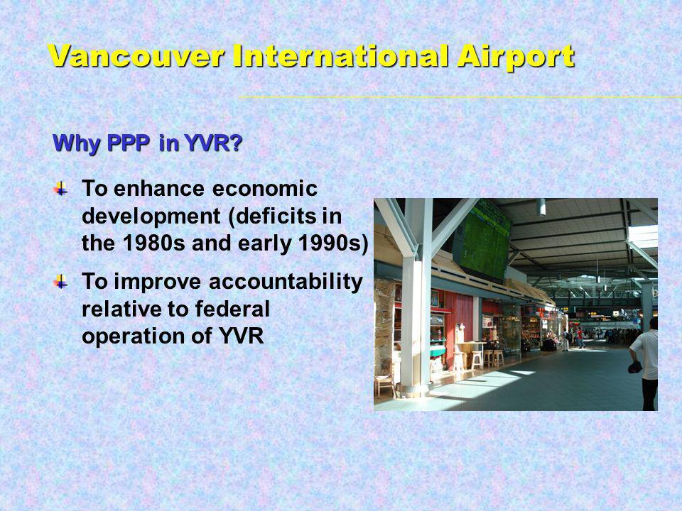 Why PPP in YVR.