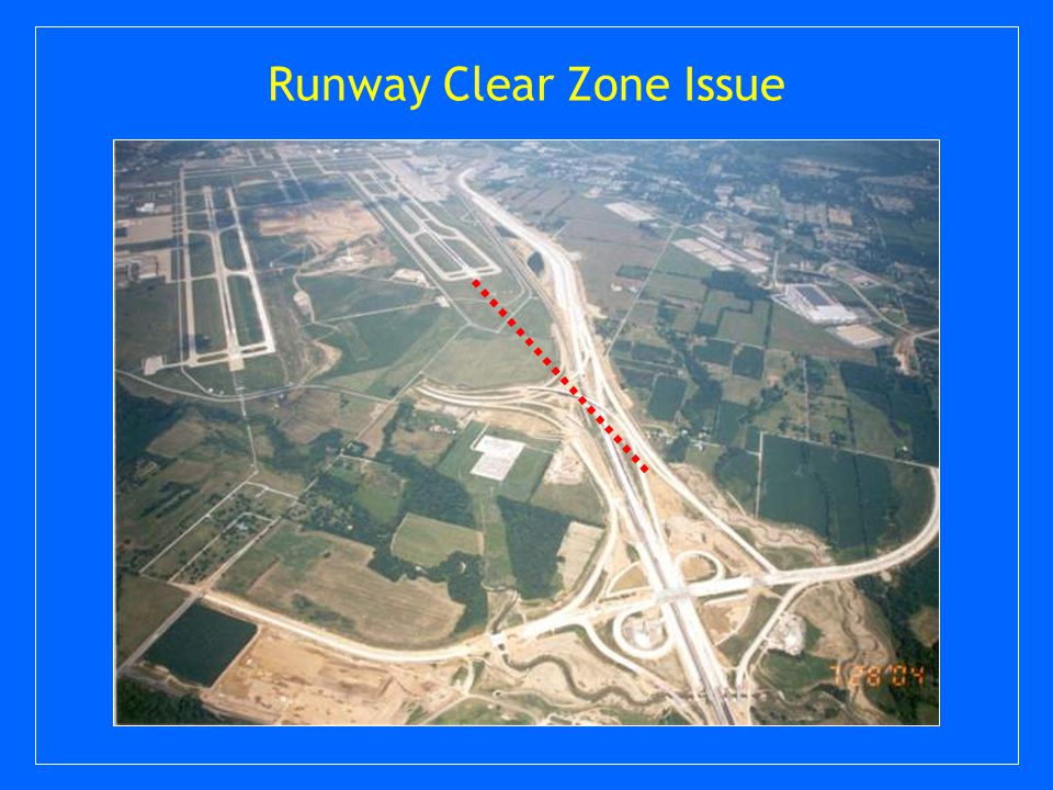 Runway Clear Zone Issue