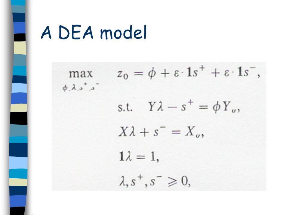 A DEA model