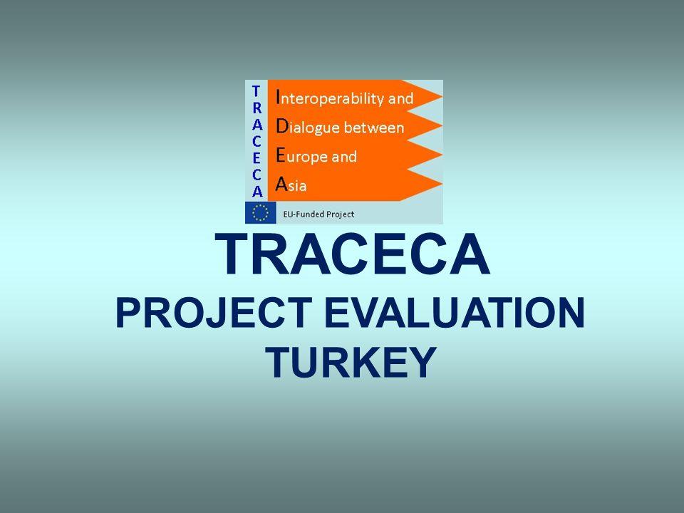 TRACECA PROJECT EVALUATION TURKEY