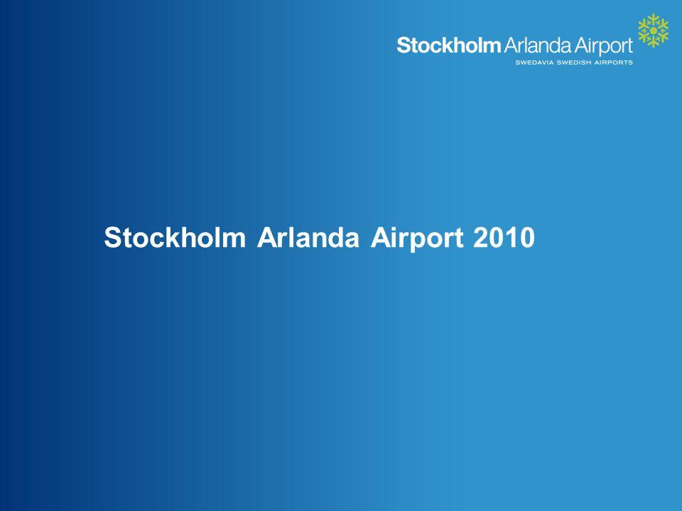 Stockholm Arlanda Airport 2010