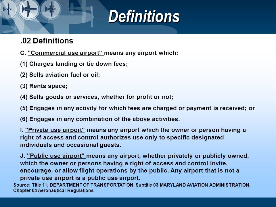 .02 Definitions C.