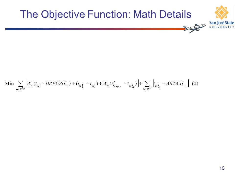 The Objective Function: Math Details 15