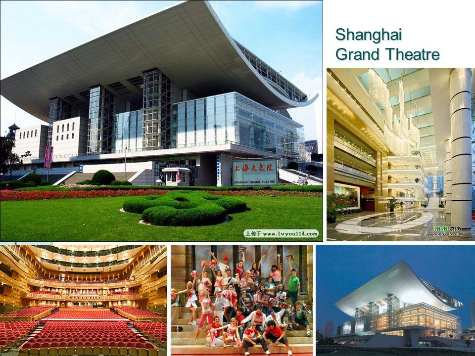 SuperDAR 2011, Hanover, NH, USA Shanghai Grand Theatre