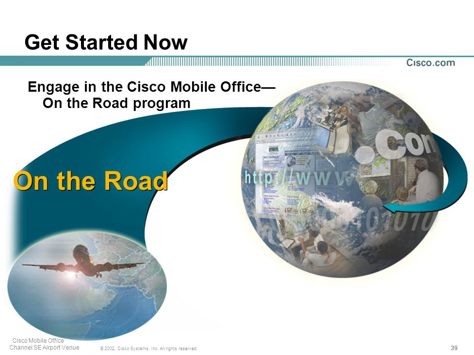 39 © 2002, Cisco Systems, Inc. All rights reserved.