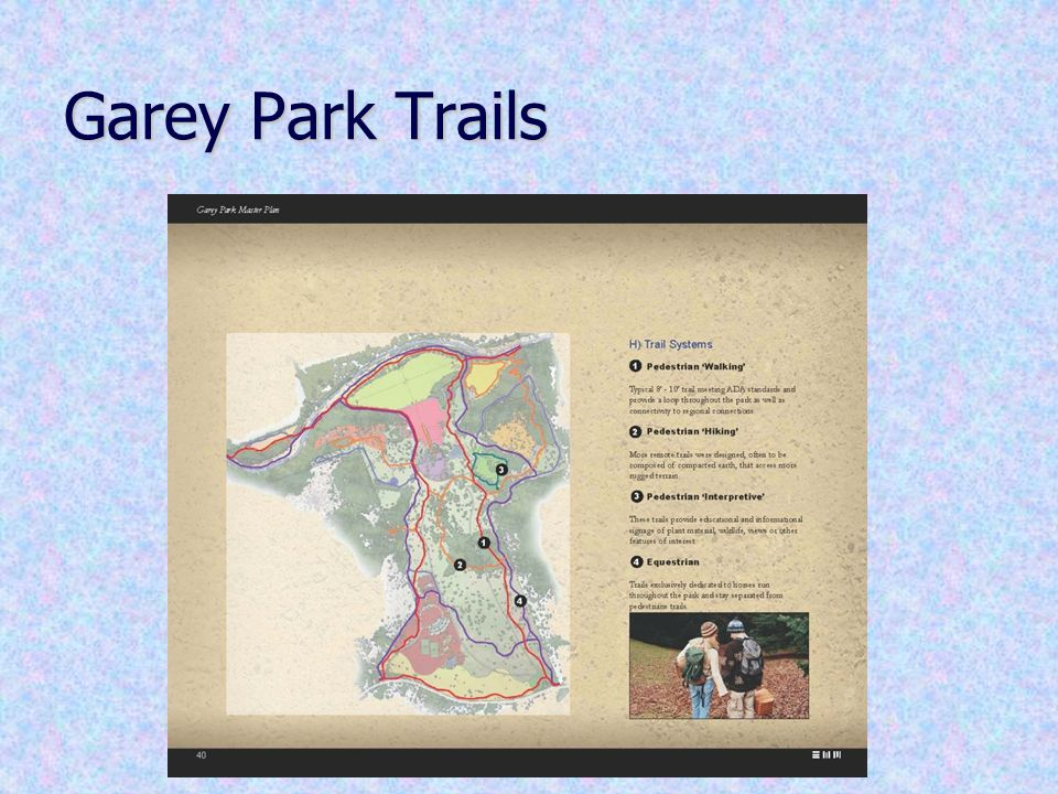 Garey Park Trails
