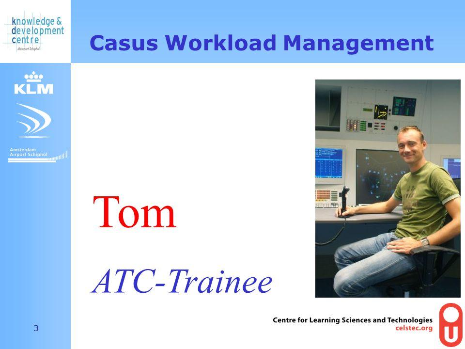 Amsterdam Airport Schiphol 3 Casus Workload Management Tom ATC-Trainee