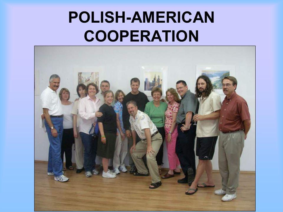 POLISH-AMERICAN COOPERATION