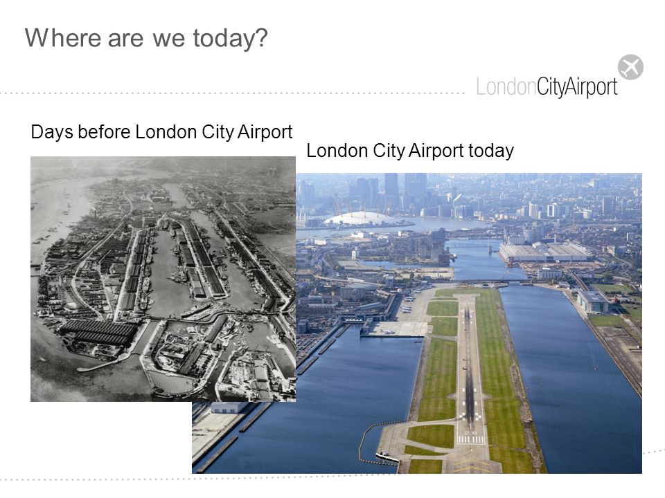 The ONLY Airport in London!