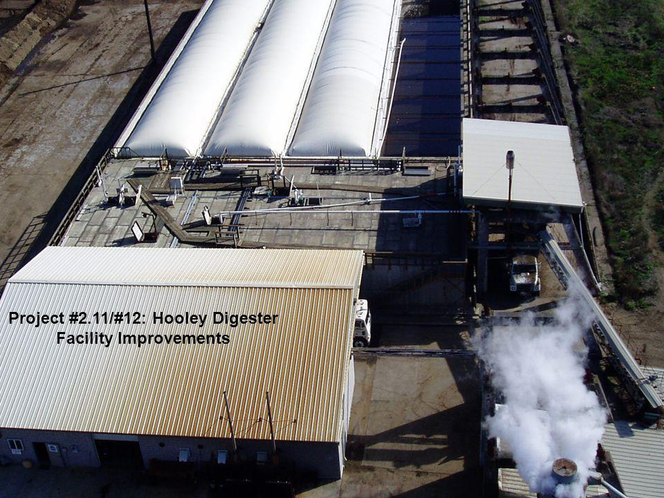 Project #2.11/#12: Hooley Digester Facility Improvements