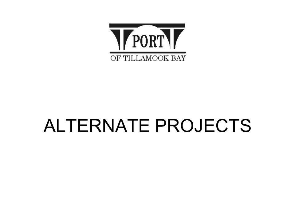 ALTERNATE PROJECTS